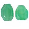 Semi-precious 15x2omm Facetted Beads Jade Coated Light amazonite